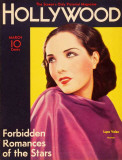 Lupe Velez - Hollywood Magazine Cover 1940's Masterdruck