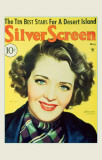 Ruby Keeler - Silver Screen Magazine Cover 1930's Masterprint