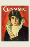 Theda Bara - Motion Picture Classic Magazine Cover 1920's Masterprint