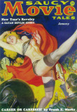 Saucy Movie Tales - Pulp Poster, 1937 Masterprint