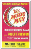 The Music Man - Broadway Poster , 1957 Masterprint