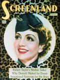 Claudette Colbert - The New Movie Magazine Cover 1930's Masterprint