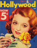 Janet Gaynor - HollywoodMagazineCover1940&#39;s Masterprint