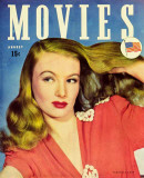 Lake, Veronica - Movies Magazine Cover 1930&#39;s Photo