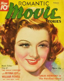 Myrna Loy - RomanticMovieStoriesMagazineCover1930's Masterprint
