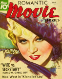 Mae West - Romantic Movie Stories Magazine Cover 1930's Masterprint
