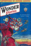 Wonder Stories - Pulp Poster, 1932 Masterprint
