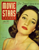 Dorothy Lamour - Movie Stars Parade Magazine Cover 1940's Impresso de alta qualidade