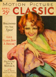 Clara Bow - Motion Picture Classic Magazine Cover 1920's Photo