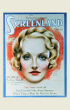 Marlene Dietrich - Screenland Magazine Cover 1930&#39;s Masterprint