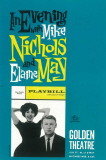 Evening with Mike Nichols and Elaine May - Broadway Poster , 1960 Masterprint