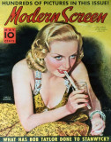 Carole Lombard - ModernScreenMagazineCover1940's Masterprint