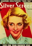 Bette Davis - Silver Screen Magazine Cover 1940's Masterprint