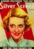Bette Davis - Silver Screen Magazine Cover 1940's Masterprint
