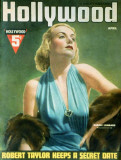 Carole Lombard - Silver Screen Magazine Cover 1930&#39;s Masterprint