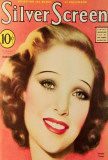 Young, Loretta - Silver Screen Magazine Cover 1930's Masterprint