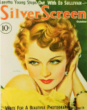 Wray, Fay - Silver Screen Magazine Cover 1940's Masterprint