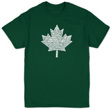Canada National Anthem T-skjorter