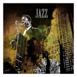 Jazzi I Posters by Jean-Fran&#231;ois Dupuis