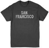 San Francisco Neighborhoods T-shirts