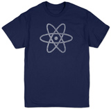 Atom out of the Periodic Table T-shirts