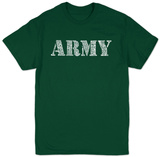 Lyrics To The Army Song T-Shirt