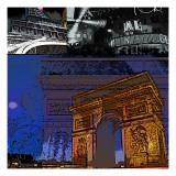 Paris II Posters by Jean-François Dupuis