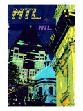 Montreal Trio I Prints by Pascal Normand