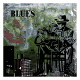 Blues II Art by Jean-Fran&#231;ois Dupuis