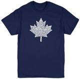 Canada National Anthem Shirts