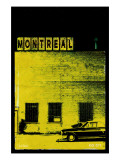 MTL Vice City - Yellow Premium Giclee Print by Pascal Normand
