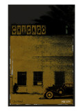 Vice City - Chicago grey Prints by Pascal Normand