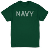 Lyrics To Anchors Aweigh T-Shirt
