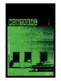 MTL Vice City - Green Premium Giclee Print by Pascal Normand