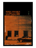 Vice City Detroit- Red Kunstdruck von Pascal Normand