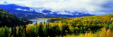 Panoramic View of a Landscape, Yukon River, Alaska, USA Wall Decal by  Panoramic Images