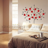 Blooming Daisy Tree Wall Decal
