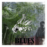 Blues Posters par Jean-François Dupuis