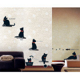 Kitty Committee Wall Decal