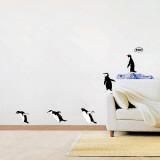 Penguin Group Dive Autocollant mural
