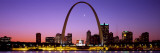 Skyline, St. Louis, MO, USA Wall Decal by  Panoramic Images