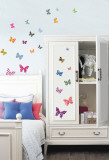 Patterned Butterfly Autocollant mural