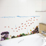Fish Aquarium Wall Decal