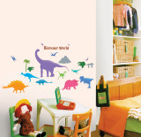 Dinosaur World Wall Decal