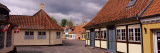 Cloud Over Houses, H C Anderson House, Odense, Fyn, Denmark Wall Decal by  Panoramic Images