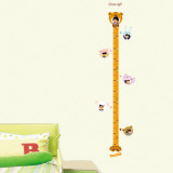 Child Baby Infant Height Measure Chart Autocollant mural