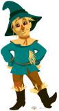 Scarecrow - Kids Wizard of Oz Cardboard Cutouts