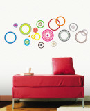 Flower Spindles Wall Decal