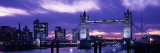 Tower Bridge, Landmark, London, England, United Kingdom Wall Decal by Panoramic Images