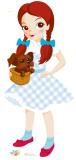 Kids Wizard of Oz - Dorothy Lifesize Standup Cardboard Cutouts